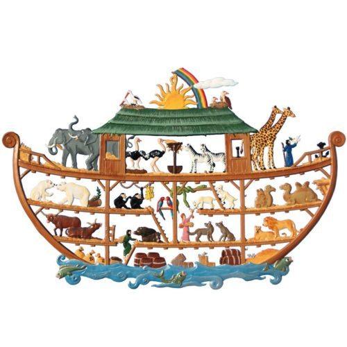 Noah's ark - Pewter ornament