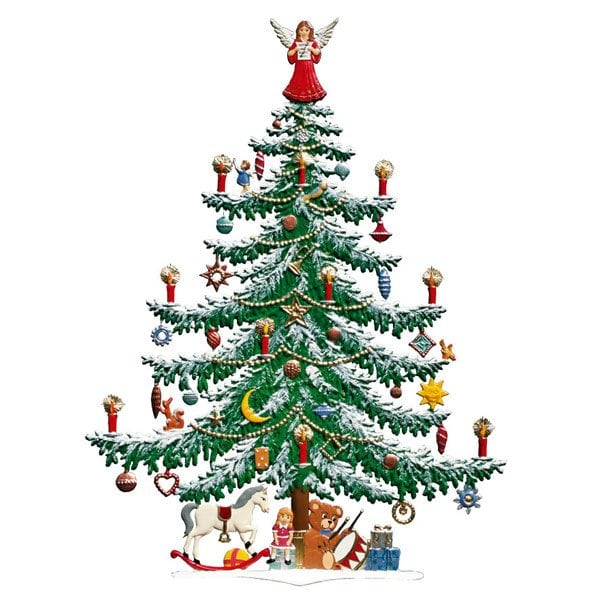 Large Christmas Tree Angel On Top Cecconi