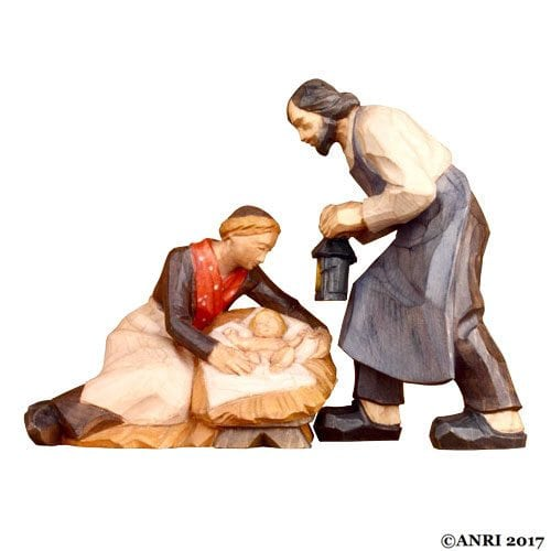 ANRI - Holy Family - STEVIA Silent Night nativity
