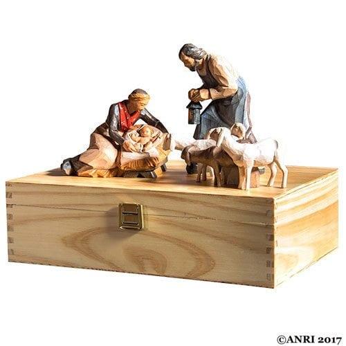 ANRI STEVIA Silent Night Nativity starterset