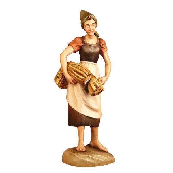 ANRI – Shepherdess with grain – Karl Kuolt nativity