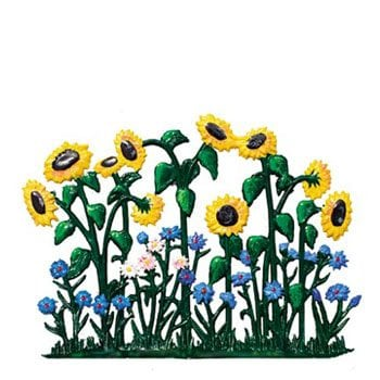 Flowers/Plants Pewter Ornaments