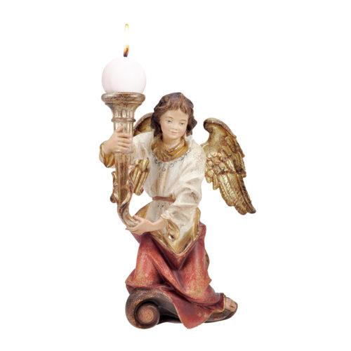 Engel kniend Kerzenhalter links