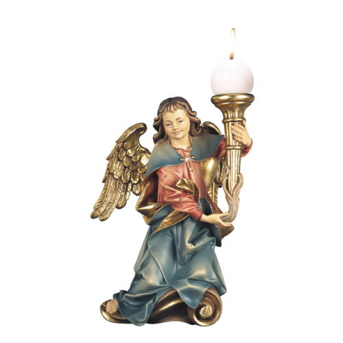 Engel kniend Kerzenhalter rechts
