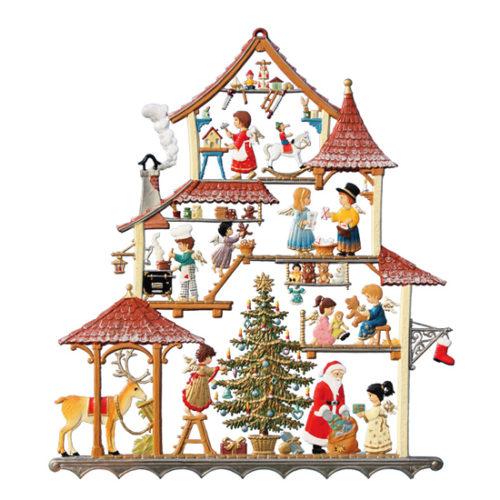 Christmas Workshop - hanging pewter ornament