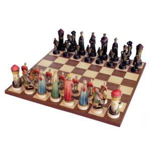 ANRI - Chess set Montsalvat colored