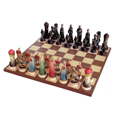 ANRI - Chess set Montsalvat colored