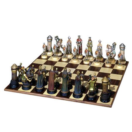 ANRI - Chess set Montsalvat gold