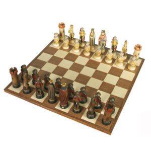 ANRI - Chess set Richard colored