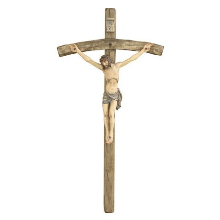 ANRI - Crucifix with bent cross