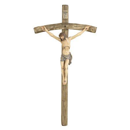 ANRI - Kruzifix mit gebogenem Kreuz