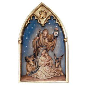 ANRI - Holy Family - Relief Nativity