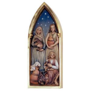ANRI - Womenfolk - Relief Nativity