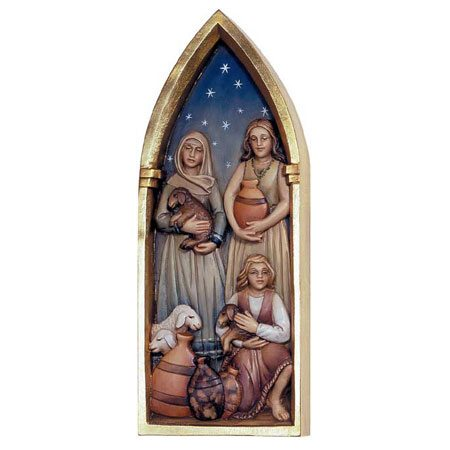ANRI - Womenfolk - Relief Nativity