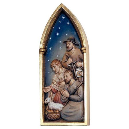 ANRI - Holy Family - Relief Nativity