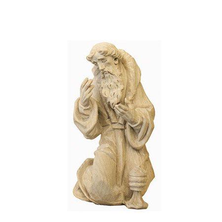 ANRI - Wise man Melchior - Walter Bacher nativity plain wood