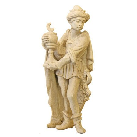 ANRI - Wise man Caspar - Walter Bacher nativity plain wood