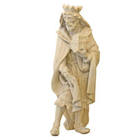 ANRI - Wise man Balthasar - Walter Bacher nativity plain wood