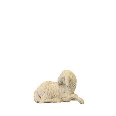 ANRI - Sheep licking - Walter Bacher nativity plain wood
