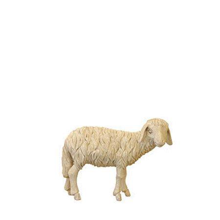 ANRI - Sheep looking - Walter Bacher nativity plain wood