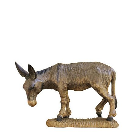 ANRI - Donkey - Walter Bacher nativity Linden wood