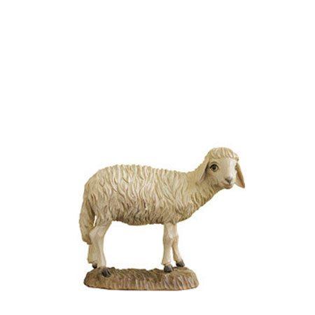 ANRI - Sheep looking - Walter Bacher nativity Linden wood