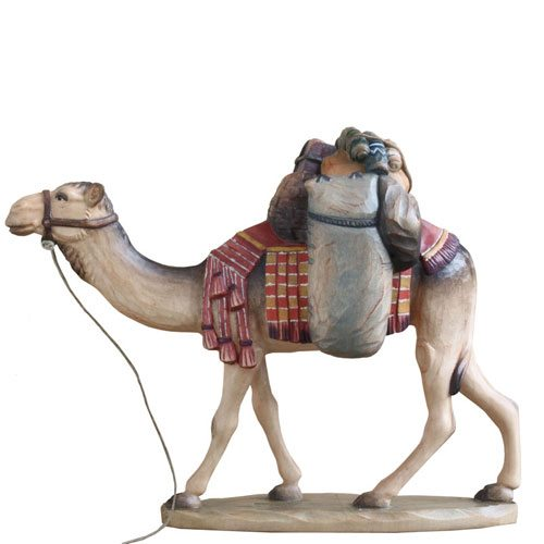 ANRI - Dromedary with pack - Walter Bacher nativity Linden wood