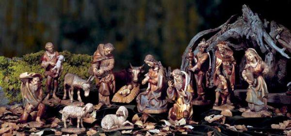 ANRI - Walter Bacher nativity - Linden wood - Set