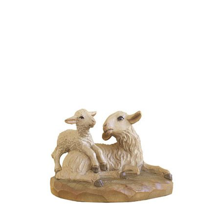 ANRI - Sheep lying with lamb - Florentiner nativity