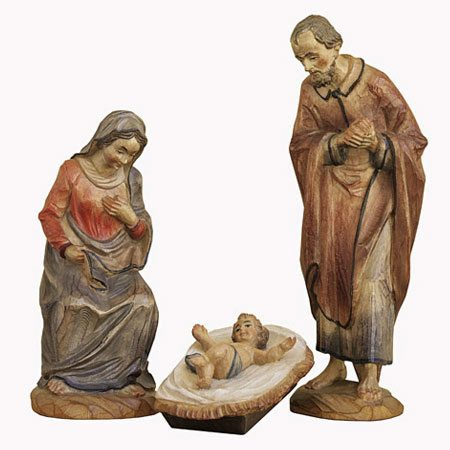 ANRI - Holy Family - Karl Kuolt nativity Linden wood