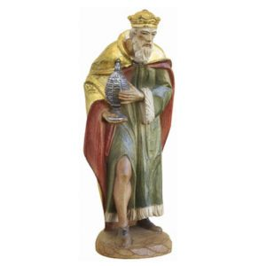 ANRI - Wise man Balthasar - Karl Kuolt nativity Linden wood