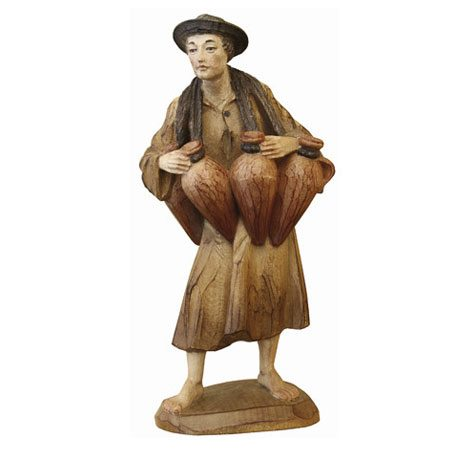 ANRI - Water Bearer - Karl Kuolt nativity Linden wood