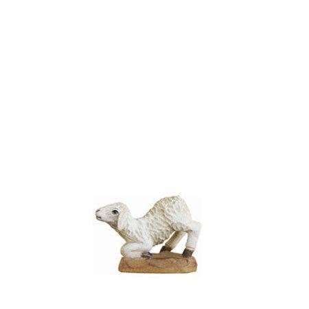 ANRI - Lamb kneeling - Karl Kuolt nativity Linden wood