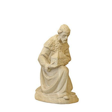 ANRI - Wise man Melchior - Karl Kuolt nativity plain Linden wood