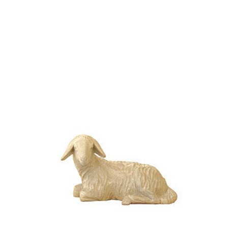 ANRI - Sheep lying - Karl Kuolt nativity plain Linden wood