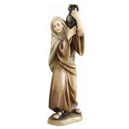 ANRI - Shepherdess with jar - Ulrich Bernardi nativity