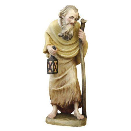 ANRI - Old man with cane and lantern - Ulrich Bernardi nativity