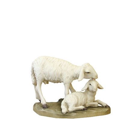 ANRI - Sheep with lamb - Ulrich Bernardi nativity