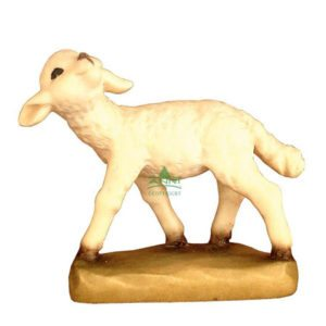 ANRI - Sheep looking up - Juan Ferrandiz nativity