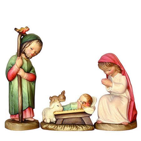 ANRI - Holy Family - Juan Ferrandiz nativity