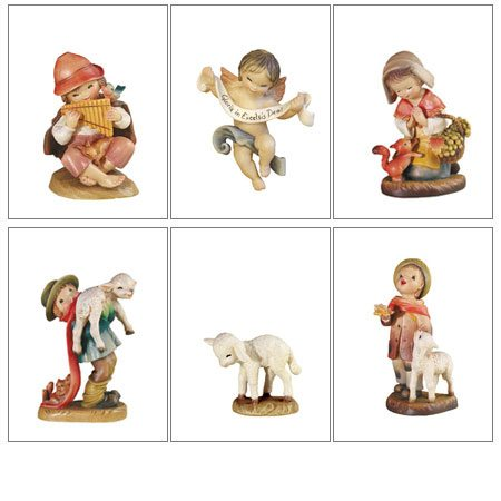 ANRI - Juan Ferrandiz miniature nativity set 3