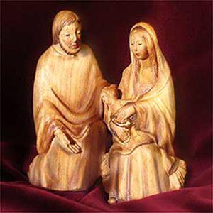 ANRI - Holy Family - Fini Moroder nativity