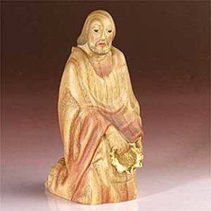 ANRI - Wise man Melchior - Fini Moroder nativity