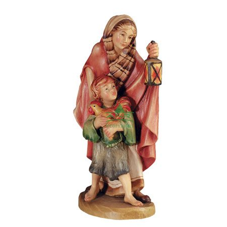 ANRI - Shepherdess with child - Florentiner nativity