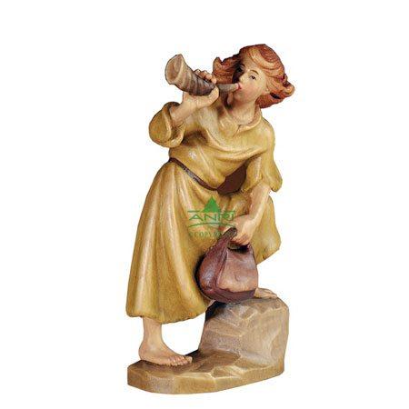 ANRI - Hirtenbub mit Horn - Florentiner Krippe