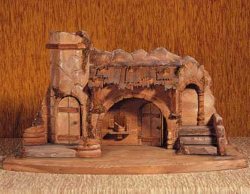 ANRI - Stable Holy Land - Nativity Stables