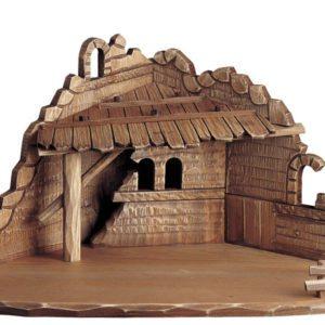 Corner nativity stable