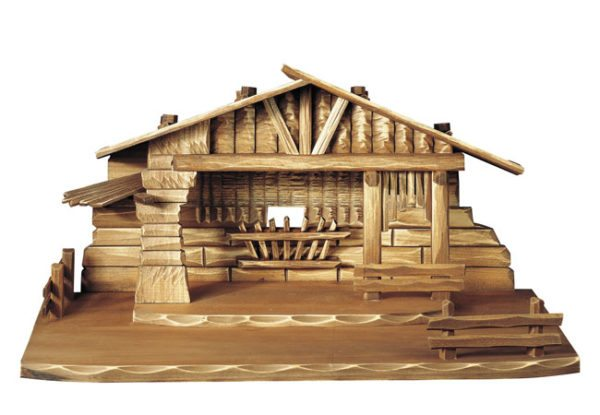 Nativity barn