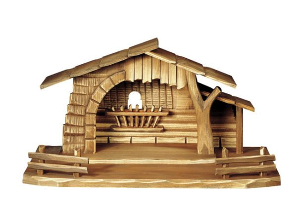 Nativity Stable with fence