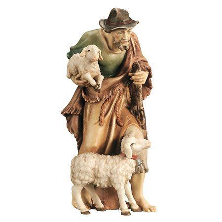 Royal nativity - Shepherd with sheep and lamb
